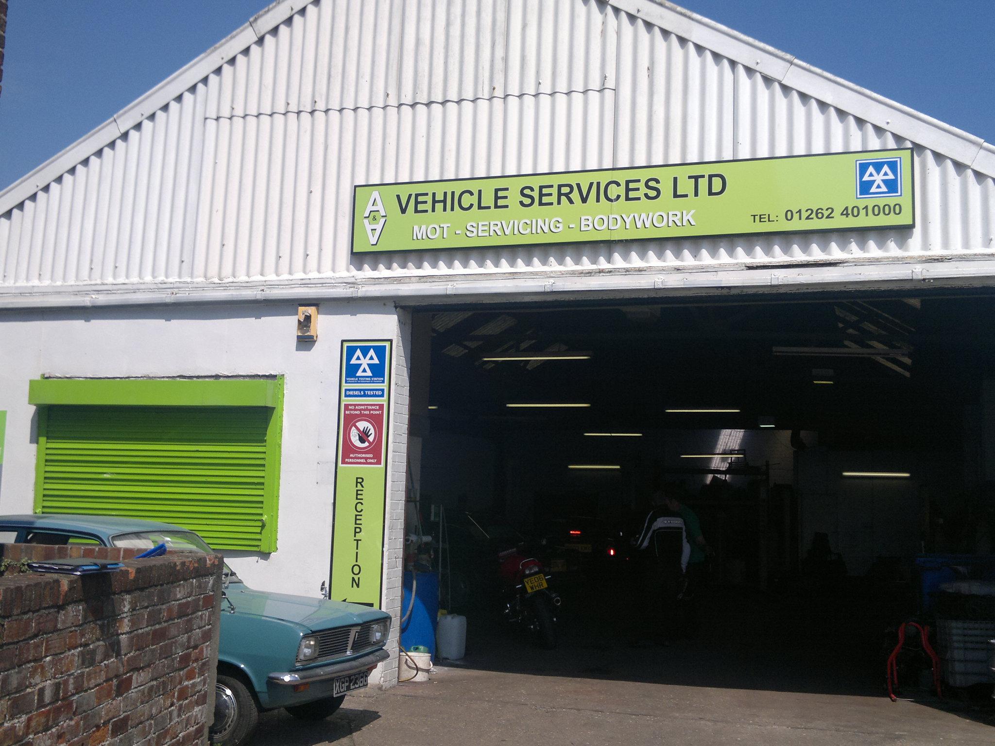 Garage Vehicle Services : A vehicle services mot garage in